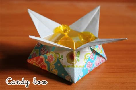 Origami Chocolate - 1 origami tutorial box origami tutorial