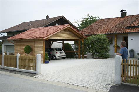 carport lärchenholz exclusives carport auberger holztechnik de