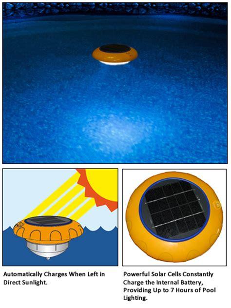 solar lights for pool shine solar pool light