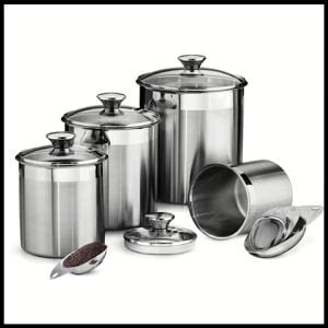 top 10 best kitchen canisters in 2018 reviews
