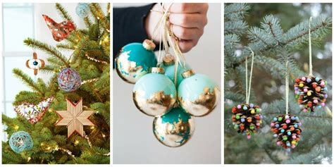 Handmade Tree Decorations Ideas - 32 diy ornament craft ideas how to