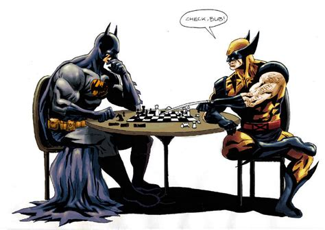 The Prestige A Reviewits Batman Vs Wolveri by Who Do You Like Better Wolverine Or Batman Battles
