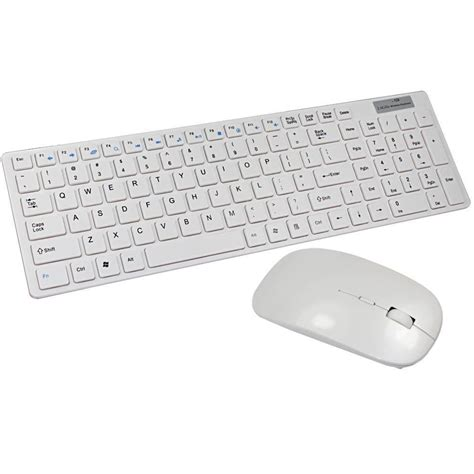 2 4g Wireless Mouse White Intl 2017 white 2 4g wireless keyboard and mouse combo for mac
