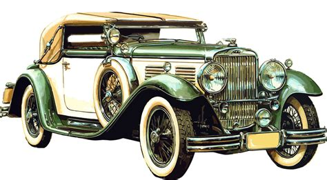old luxury car transparent png stickpng