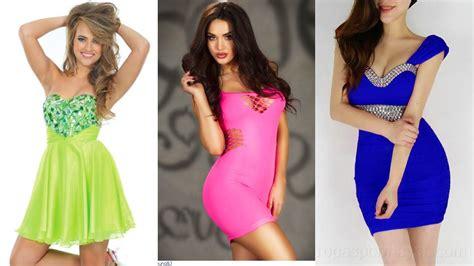 Imagenes De Uñas Juveniles 2016 | moda 2015 hermosos vestidos juveniles youtube