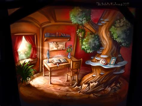 little house of art little tree house by koel art on deviantart