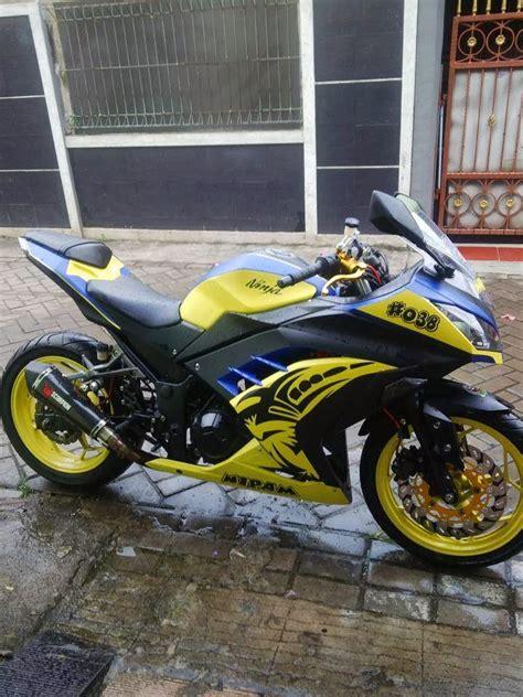 gambar foto modifikasi motor kawasaki 250 fi foto gambar motorcycle review and galleries