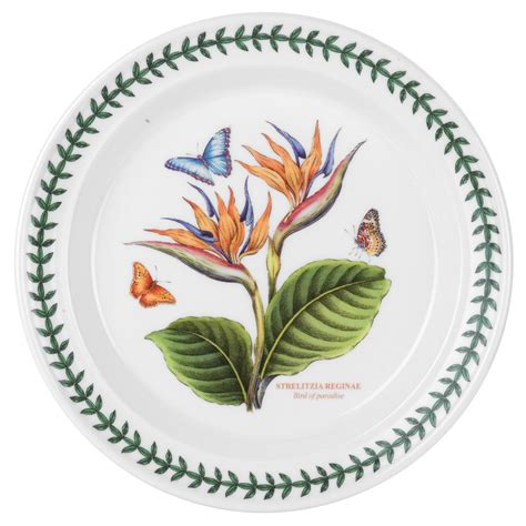 Portmeirion Botanic Garden Dinner Plates Portmeirion Botanic Garden Set Of 6 Bird Of Paradise Dinner Plates Portmeirion Usa