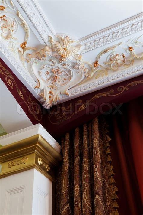 Stuck An Der Decke by Stuck An Der Decke Und Die Vorh 228 Nge In Den Reichen Wohnung