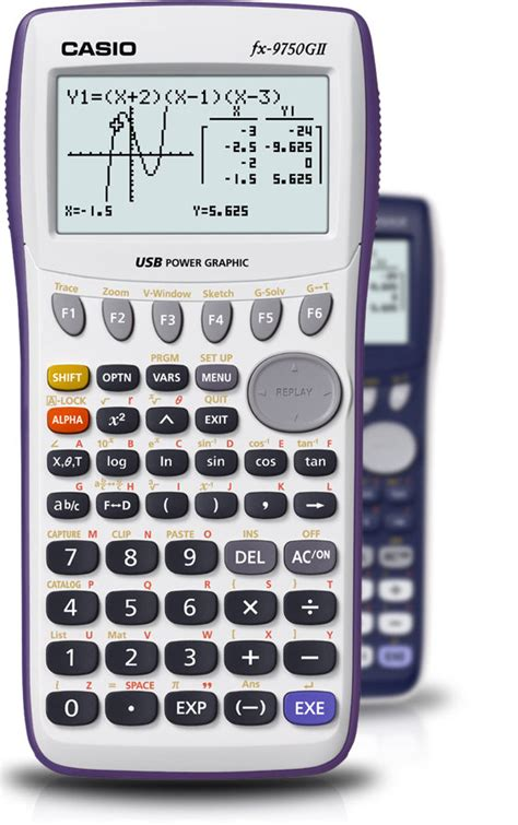 Casio Kalkulator Fx 991 Id Plus Scientific Calculator Casio casio fx 9750gii graphing calculator white