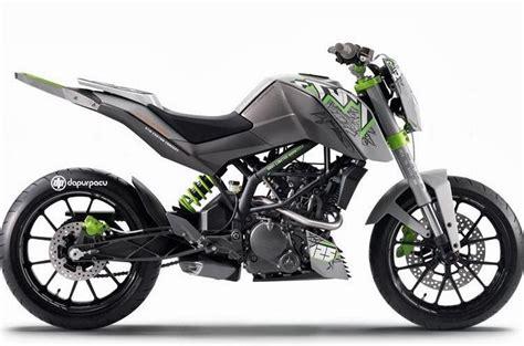 Indonesia Modifikasi Motor by Tren Modifikasi Motor Trail Indonesia Variasi Motor