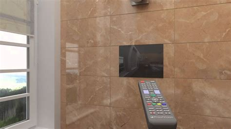 how to install tv in bathroom bathroom television installation youtube