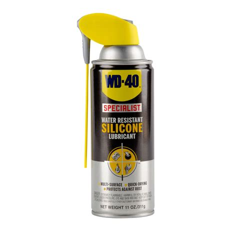 is wd40 food safe wd 40 specialist 11 oz water resistant silicone lubricant