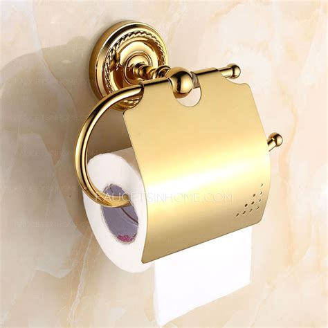 luxury toilet paper holder luxury bathroom brass toilet paper roll holders