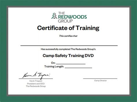 free templates for training certificates sle training certificate template 6 documents in psd