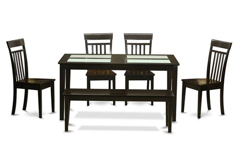 discount dining room furniture rectangular dining room set w 4 chairs efurnituremart