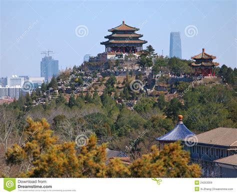 Image China china beijing cityscape jingshan park stock image image 24253359