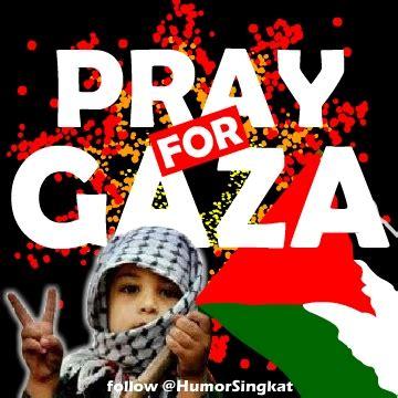 dp bbm pray  gaza gambar profile