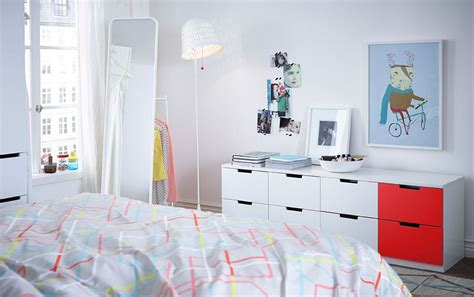 ikea teenage bedroom smart 8 drawer dresser for the trendy teen bedroom from