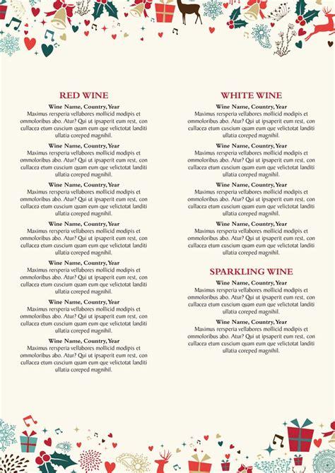 christmas drinks menu artwork 163 120 hall and woodhouse