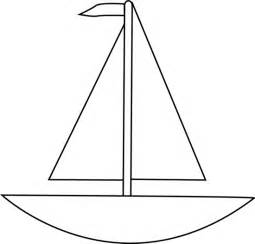Sailboat Outline by Black And White Boat Clip Black And White Boat Image