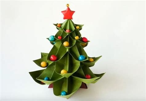 step by step christmas tree oragami wiki with pics how to make an origami tree