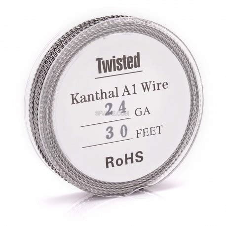 Volt Wire Khantal A1 29awg authentic kanthal a1 24 awg x 2 0 5mm twisted heating wire