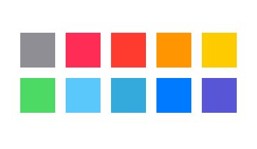 ios colors ios 7 color palette bruce elgort