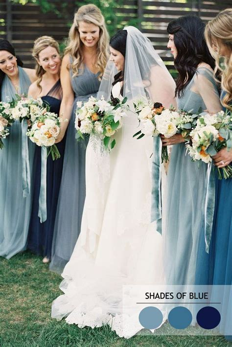25  best ideas about Dusty blue bridesmaid dresses on