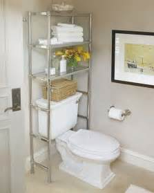 Bathroom Shelves Over Toilet by Over The Toilet Shelving Units Help Maximize Unused Space