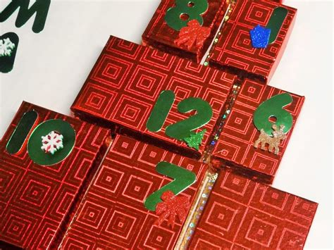 Calendar Dollar Tree Dollar Tree Craft 12 Days Of Gift Calendar Diy