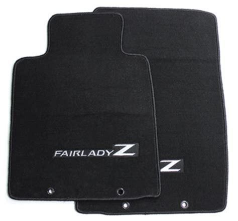 370z Floor Mats by Motorsport Floor Mats With Quot Fairlady Z Quot Logo Black 09