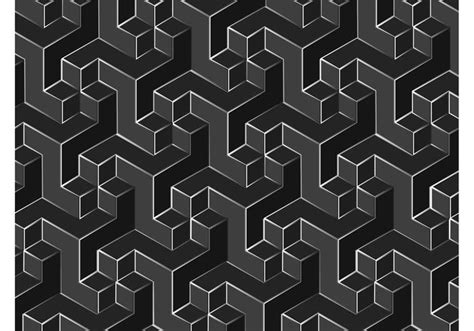 non pattern 3d square pattern vector www imgkid com the image kid