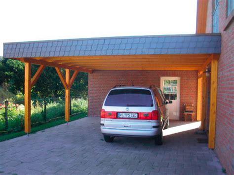 carport gemauert plaspohl zimmerei und holzbau