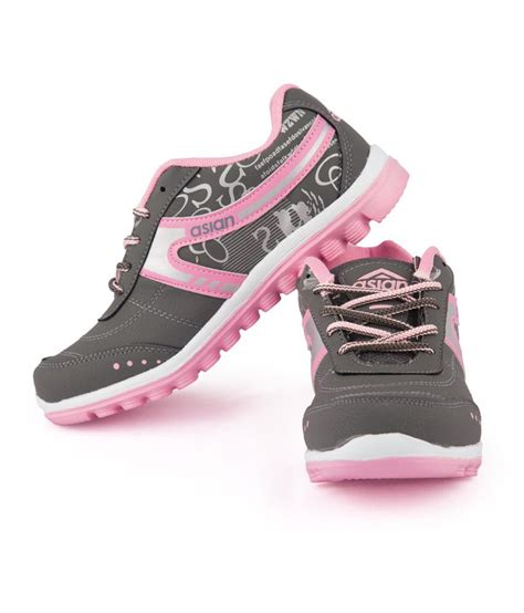 lifestyle sports shoes buy asian pink lace lifestyle sports shoes on snapdeal