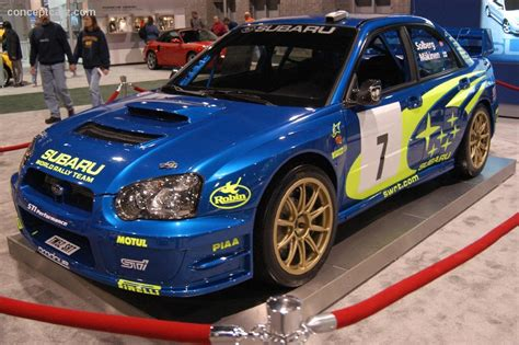 rally subaru wagon 2004 subaru impreza wrc pictures history value research