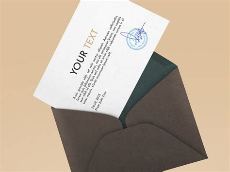 Invitation Letter Psd 25 Best Ideas About Envelope Mockup On Stationary Mockup Stationery Mockup And