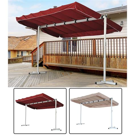 Outdoor Patio Canopy by Outdoor Free Standing Awning Patio Canopy Gazebo Shelter