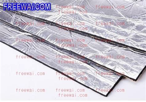 How To Soundproof Car Interior by Car Sound Proof Sound Deadening Heat Proof Sheet