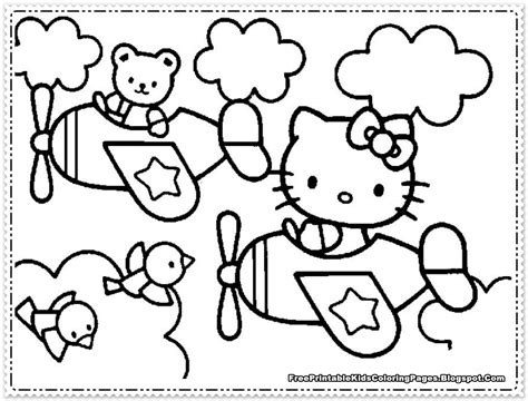Hello Kitty Coloring Pages For Girls Free Printable Kids Coloring Pages Hello