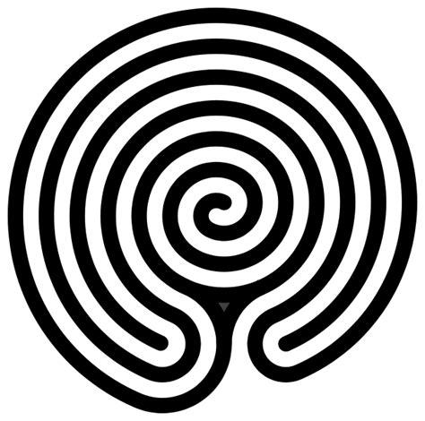 Labyrinth Outline by File Chakravyuha Labyrinth Alternate Svg