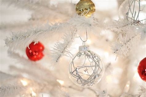 Country French Dining Room Furniture picture of minimalist silver diy christmas ornaments
