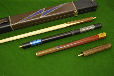 Handmade Snooker Cues - 57 inch handmade snooker cue rosewood ash shaft