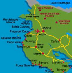 Vacation Homes In Puerto Rico Liberia City Map Guanacaste Costa Rica