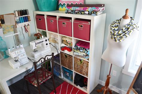 bedroom craft ideas my colourful craft room office our diy house the diy mommy