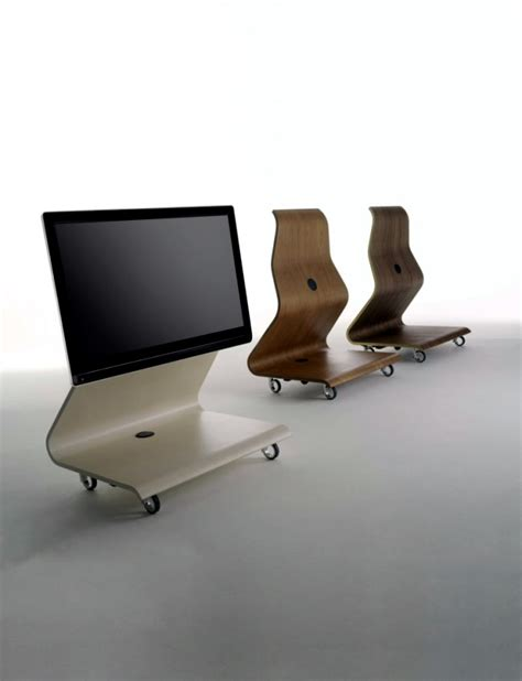 Unusual Living Room Furniture ? Support for LCD TV by