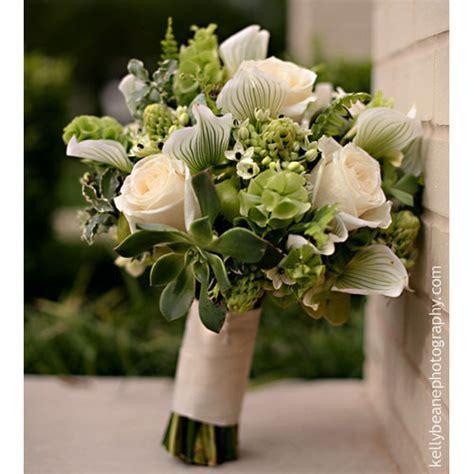 Green and White   Bouquet Wedding Flower