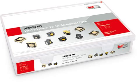 we pfc pfc inductors design kits power magnetics wurth electronics standard parts