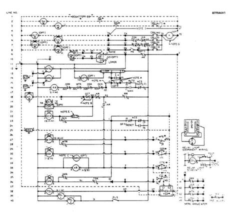 panel wiring schematic