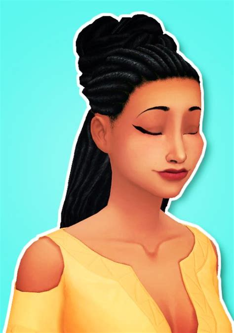sims 4 dreads cc pin by ryder whitlow on ts4 maxis match cc finds